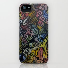 Space Time iPhone Case