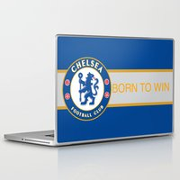 chelsea Laptop & iPad Skins featuring Chelsea by DeBUM