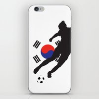 korea iPhone & iPod Skins featuring Korea Republic - WWC by Alrkeaton