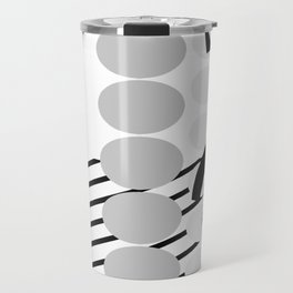 billy goat dots and stripes Travel Mug