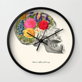 Politeness is the flower of humanity Wall Clock