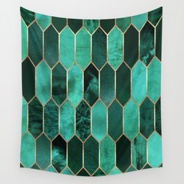 Stained Glass 2 Wall Tapestry