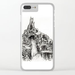 Splash Mountain Clear iPhone Case