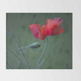 Red Poppy Dance #decor #society6 Throw Blanket
