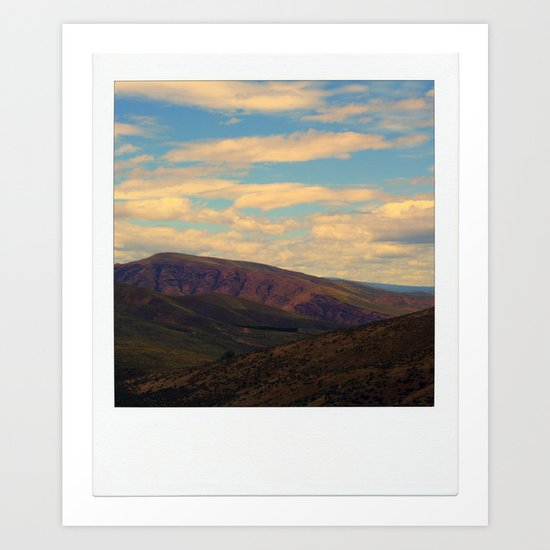 Mountain. Art Print