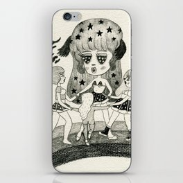 Pizza Ring iPhone Skin