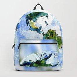 Hand Drawn Earth Backpack