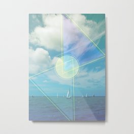 The Seas Be Ours Metal Print