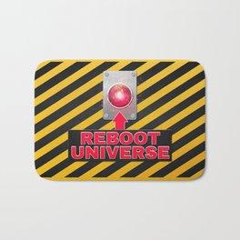 Reboot Universe Button Bath Mat