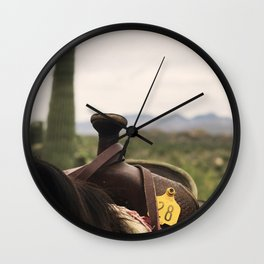 Best Seat In the House Wall Clock