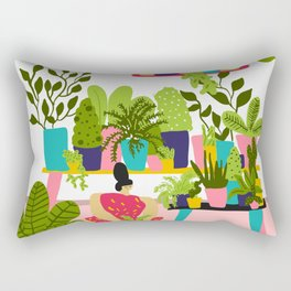 Love Plants Rectangular Pillow