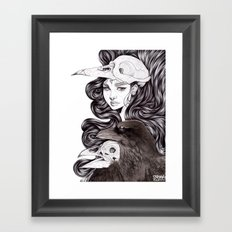 You Don't Know Me Framed Art Print
