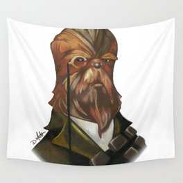 Sir Chewbacca Wall Tapestry