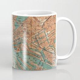 Vintage Map of Hamburg Germany (1910) 2 Coffee Mug
