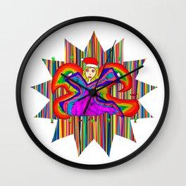 Star Fairy | Christmas Spirit Wall Clock