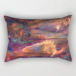 Venice Sunset Rectangular Pillow