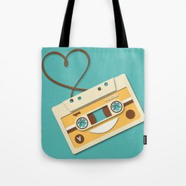 Memory Tape Tote Bag