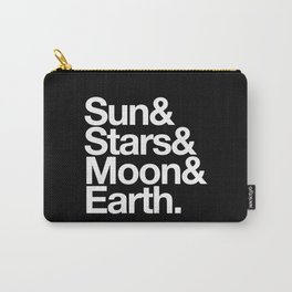 Sun, Stars, Moon, Earth Carry-All Pouch