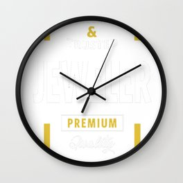 Jeweler-Logo-Tees Wall Clock