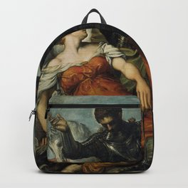 Tintoretto - St. Louis of Toulouse, St. George and the Princess Backpack
