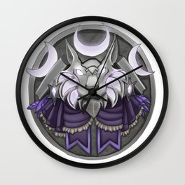 Light crest Wall Clock