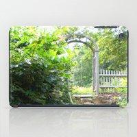 cape cod iPad Cases featuring Cape Cod Escape by JezRebelle