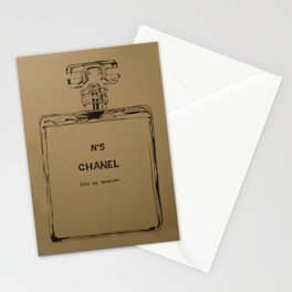 N5 Sepia  Stationery Cards
