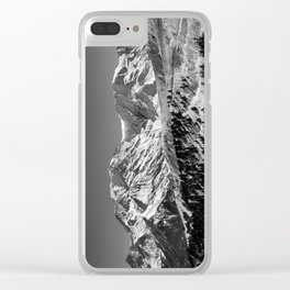 Mt. Blanc Clear iPhone Case