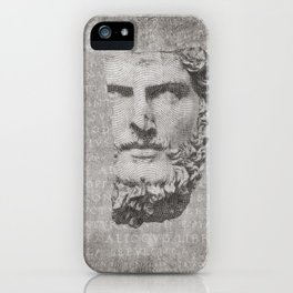 ANCIENT / Head of Lucius Verus iPhone Case
