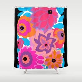 CAMBRIA, ART DECO FLORALS: HANALEI BAY Shower Curtain