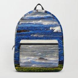 Wind Blown Breakers Backpack