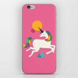To be a unicorn iPhone Skin