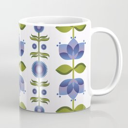 Blue Florals Coffee Mug