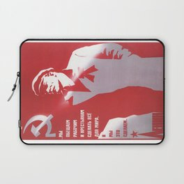 Russia, URSS Vintage Poster (8) Laptop Sleeve