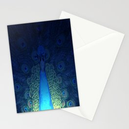 Mystic Peacock Stationery Cards