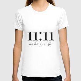 11:11 make a wish T-shirt