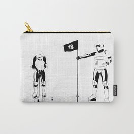 The real dark side - Hole 18 Carry-All Pouch