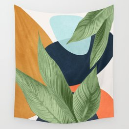 Nature Geometry VIII Wall Tapestry