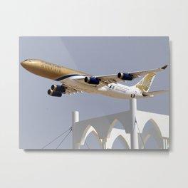 Gulf Air A340 Metal Print