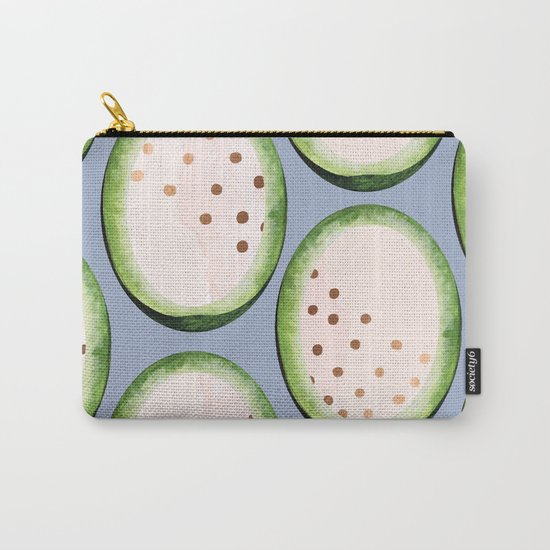 Rose Gold Melon Seeds #society6 #lifestyle #decor Carry-All Pouch