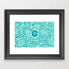 #MoleskineDaily_44 Framed Art Print