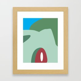 Close Up Art - Bulb Framed Art Print