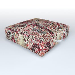 Kerman South Persian Rug Print Outdoor Floor Cushion