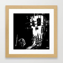 Shattered Framed Art Print