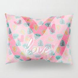Steamy Summer Love Pillow Sham