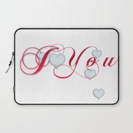 I Heart You Laptop Sleeve