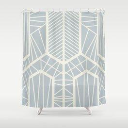 Gris Shower Curtain
