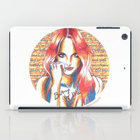 britney spears iPad Cases featuring Britney Spears' Britney Jean Album by Eduardo Sanches Morelli