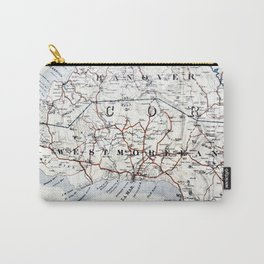 Map Section: Jamaica Carry-All Pouch