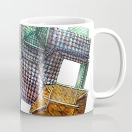 Taiwanese roofscapes 03 Coffee Mug